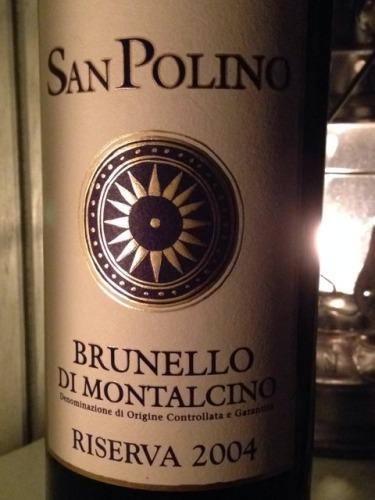 圣保利诺布鲁奈罗珍藏红葡萄酒San Polino Brunello di Montalcino Riserva