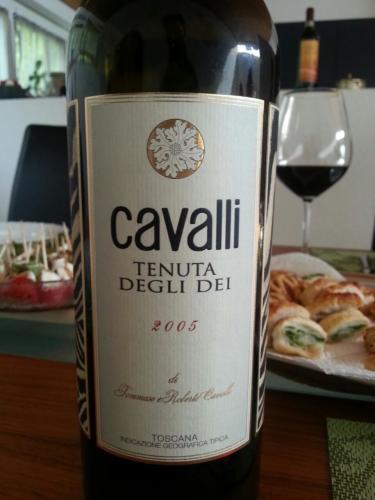 卡沃利干红Cavalli Tenuta Degli Dei