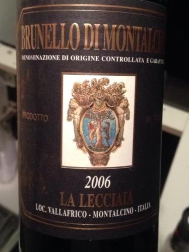 乐奇亚酒庄布鲁奈罗干红Fattoria la Lecciaia Brunello di Montalcino