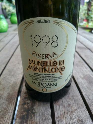 Riserva Brunello Di Montalcino