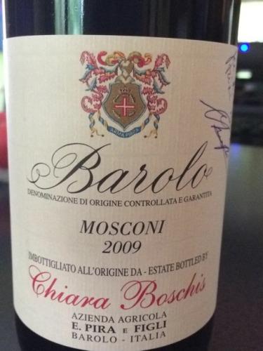 碧哈酒庄莫斯卡尼巴罗洛红葡萄酒E. Pira & Figli Chiara Boschis Mosconi Barolo