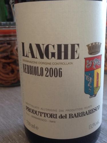 合作社内比奥罗干红葡萄酒Produttori del Barbaresco Langhe Nebbiolo