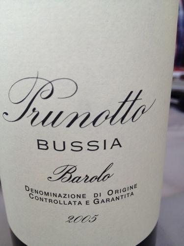 普鲁诺托芭西亚葡萄园巴洛洛干红Prunotto Bussia