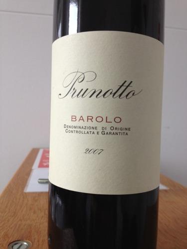 普鲁诺托巴罗洛产区干红Prunotto Barolo