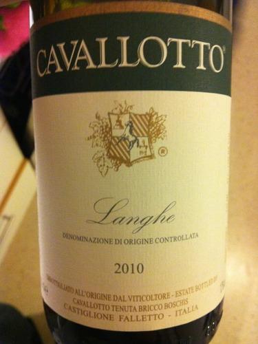 卡瓦洛塔朗格干红Cavallotto Langhe