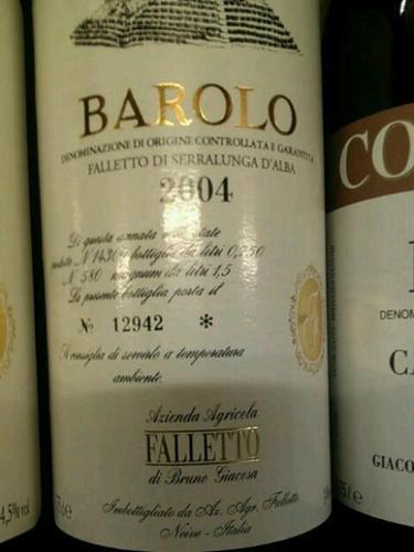 Rocche di Castiglione Falletto Barolo