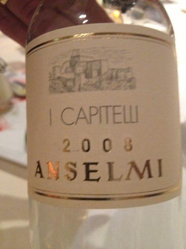 安塞尔米凯匹特利甜白Roberto Anselmi I Capitelli Bianco Dolce