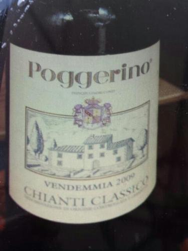 波杰利诺经典基安帝干红Poggerino Chianti Classico