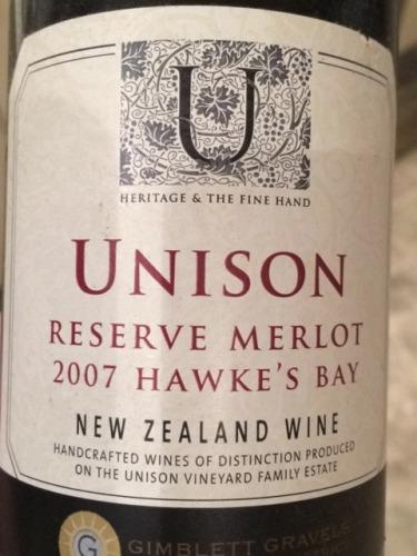 Reserve Merlot