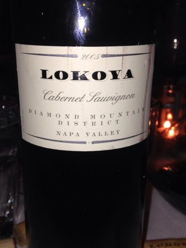 Lokoya Winery Diamond Mountain District Cabernet Sauvignon