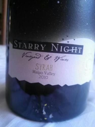 繁星之夜设拉子干红Starry Night Syrah