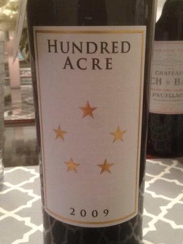 Hundred Acre Vineyard Cabernet Sauvignon Ark Vineyard