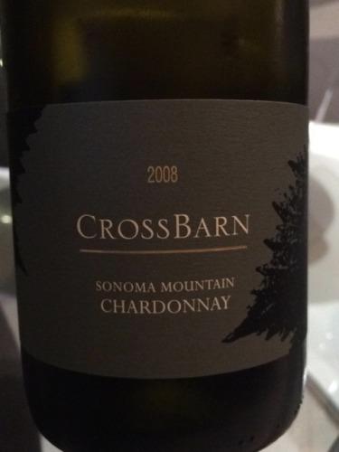 CrossBarn Sonoma Mountain Chardonnay