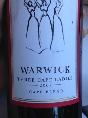 沃悦客酒庄三位开普敦仕女干红Warwick Estate Three Cape Ladies