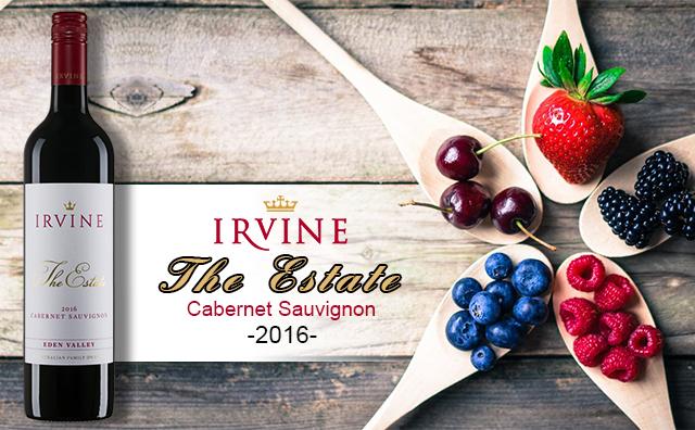 【名莊新爆款】Irvine The Estate Cabernet Sauvignon 2016