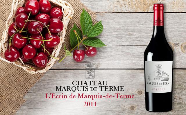 【名莊副牌】Chateau Marquis de Terme L'Ecrin de Marquis-de-Terme 大降50元