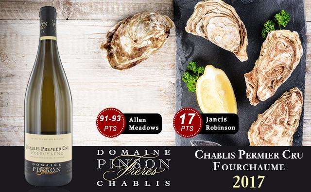 【挑战特级园】Domaine Pinson Freres Chablis Premier Cru Fourchaume 2017