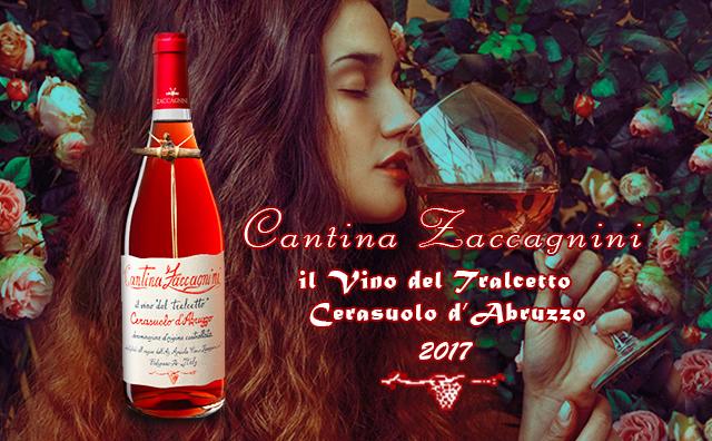 【颜值爆表】Cantina Zaccagnini il Vino del Tralcetto Cerasuolo d'Abruzzo 双支套装