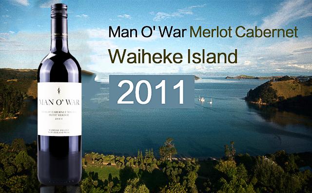 【激流岛佳酿】Man O' War Merlot Cabernet 2011