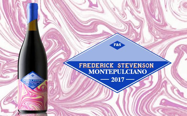 【高顏自然酒】Frederick Stevenson Montepulciano 2017