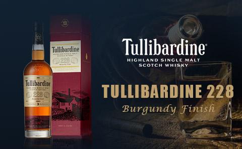 【高端单麦】Tullibardine 228 Burgundy Finish Single Malt Scotch Whisky 带礼盒 爆降30元