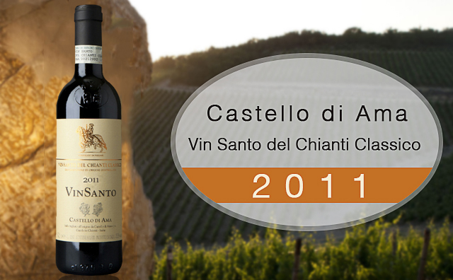 【珍酿圣酒】Castello di Ama Vin Santo del Chianti Classico 375ml 大降60元
