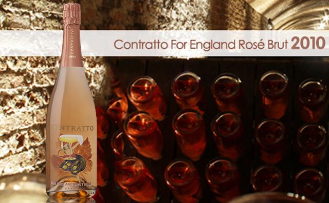 【高端桃红起泡】Contratto For England Pas Dose Brut Rose 2010