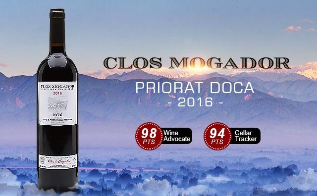 【高分膜拜】Clos Mogador Priorat DOCa 2016