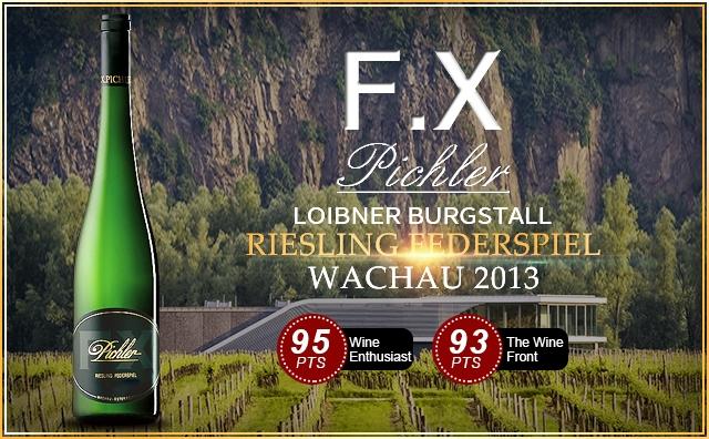 【奧地利名莊】F.X. Pichler Loibner Burgstall Riesling Federspiel Wachau 2013
