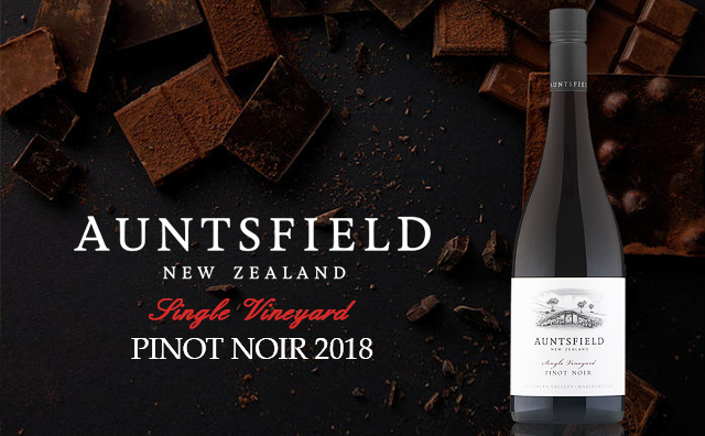 【超爆来袭】Auntsfield Single Vineyard Pinot Noir 2018