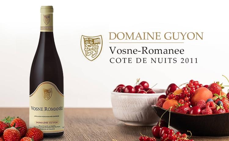 【大师惊艳】Domaine Guyon Vosne-Romanee, Cote de Nuits 2011