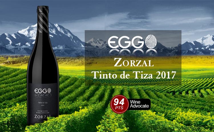 【难以置信】Zorzal EGGO Tinto de Tiza 2017 必入高分