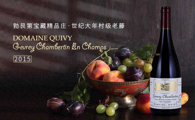 【探宝勃艮第,世纪大年】Domaine Quivy Gevrey Chambertin En Champs 2015