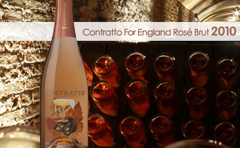 【高端桃红起泡】Contratto For England Pas Dose Brut Rose 2010
