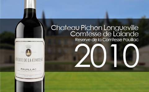 【超级年份】Reserve de la Comtesse 2010