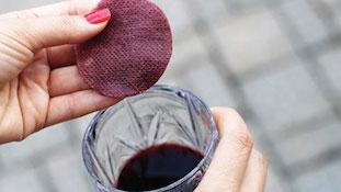 补水红酒面膜四步法