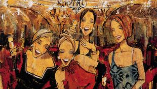 红酒和女人