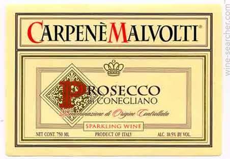卡玛普罗塞克起泡Carpene Malvolti Prosecco