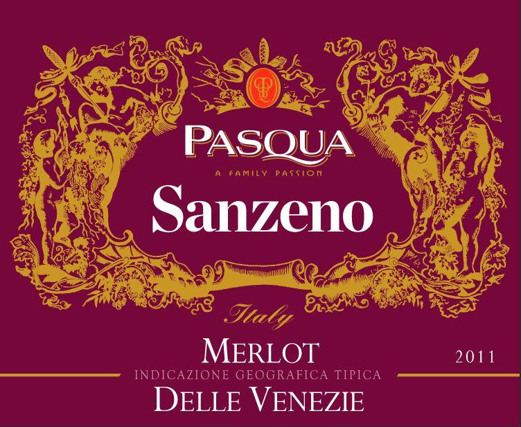 帕斯克桑泽诺梅洛干红Pasqua Sanzeno Merlot