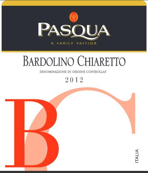 帕斯克巴多利诺桃红Pasqua Bardolino Chiaretto