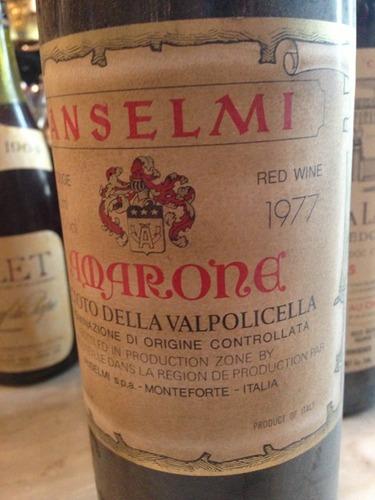 安塞尔米阿马罗尼瓦尔坡里切拉干红Roberto Anselmi Amarone della Valpolicella