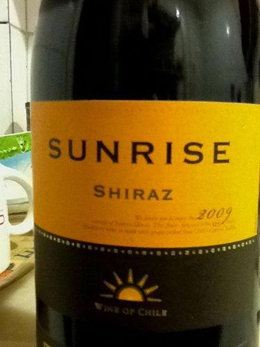 干露旭日设拉子干红Sunrise Shiraz