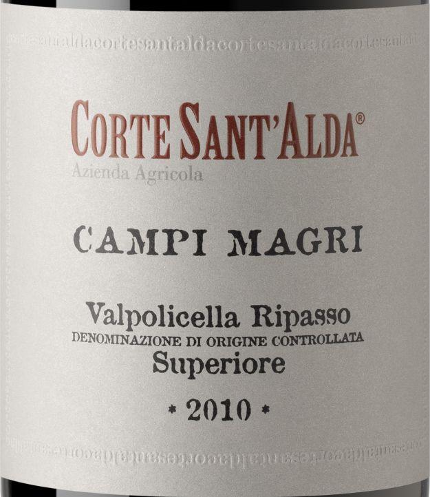 圣阿尔达玛格丽顶级干红Corte Sant' Alda Campi Magri valpolicella Ripasso superiore