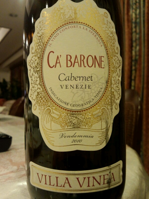 威尼亚卡巴罗尼赤霞珠干红Vinea Cabarone Cabernet Sauvignon