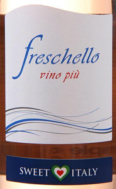 弗莱斯凯罗半甜桃红Freschello Vino Piu Sweet Italy