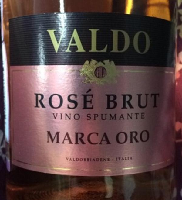 Valdo Brut Rose Nerello Mascalese Vino Spumante