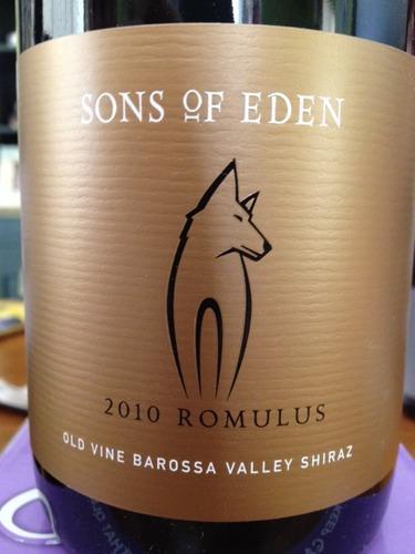伊顿之子罗慕路斯西拉干红Sons of Eden Romulus Shiraz