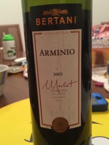 Bertani Merlot Veneto Arminio