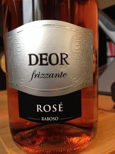 Deor Frizzante Rosé Raboso